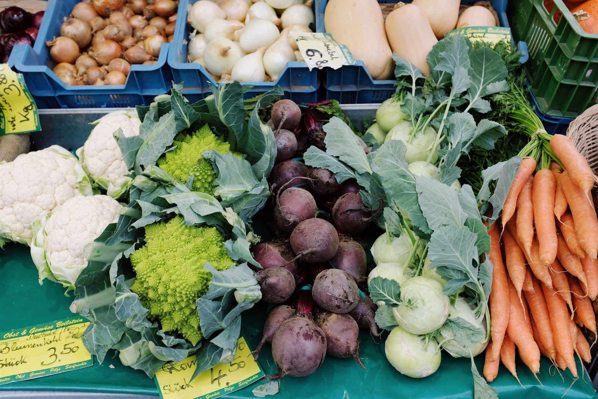 Gesunde Lebensmittel, die dich gesund halten